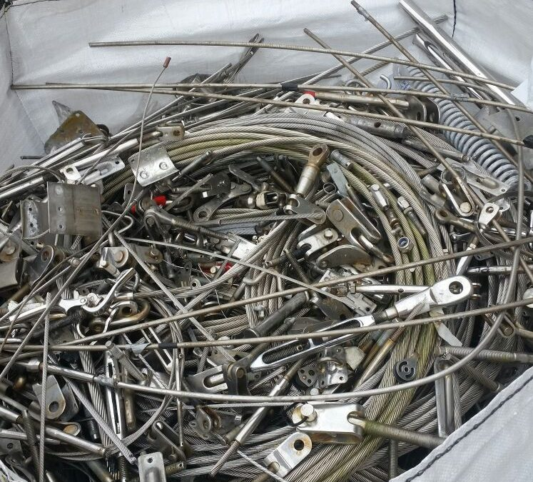 Scrap metal recycling explained