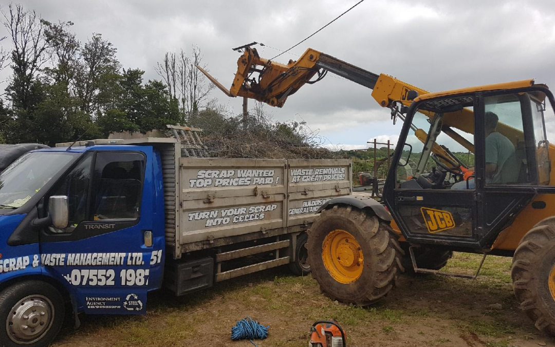 Did you know Jays Scrap offer Agricultural Waste services?