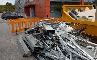 Scrap Metal Removal for Royal Mail