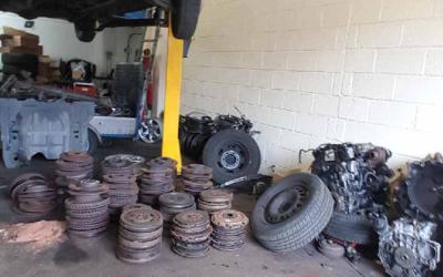 Garage Scrap Collection